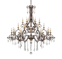 Savoy House 1-3004-24-8 - St. Laurence 24 Light Chandelier