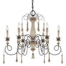 Minka-Lavery 1236-580 - Accents Provence 6 Light Chandelier