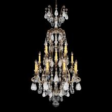 Schonbek 3582-26OS - Renaissance Rock Crystal 17 Light 110V Chandelier in French Gold with Olivine And Smoke Topaz Clear
