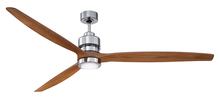 "Craftmade SON52CH-52LOK - Sonnet 52"" Ceiling Fan Kit with LED Light in Chrome"