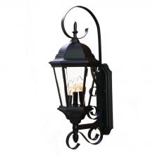 Acclaim Lighting 5413BK - 3-Light Outdoor Matte Black Light Fixture