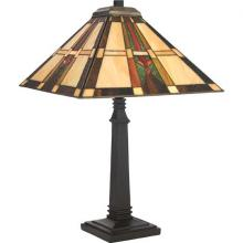 Quoizel TF954TVB - One Light Vintage Bronze Table Lamp