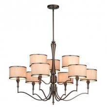 Thomas M206915 - Gramercy Park 9-light Chandelier in Oiled Bronze finish