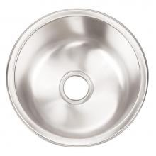Artisan Manufacturing AO16D8-D - Single bowl DELUXE pack 16ga Stainless