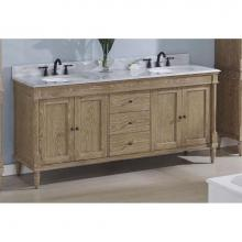 Fairmont Designs 142-V7221D - Rustic Chic 72'' Vanity-Double