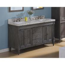 Fairmont Designs 143-V6021D - Rustic Chic 60'' Vanity-Double