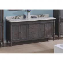 Fairmont Designs 143-V7221D - Rustic Chic 72'' Vanity-Double
